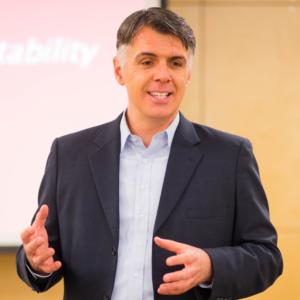 Patrick O'Reilly facilitating a Padraig Coaching Leadership Workshop