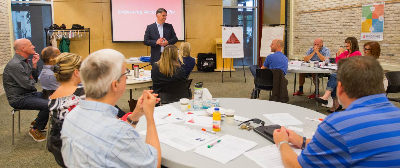 A Padraig Workshop - The Five Behaviors of a Cohesive Team