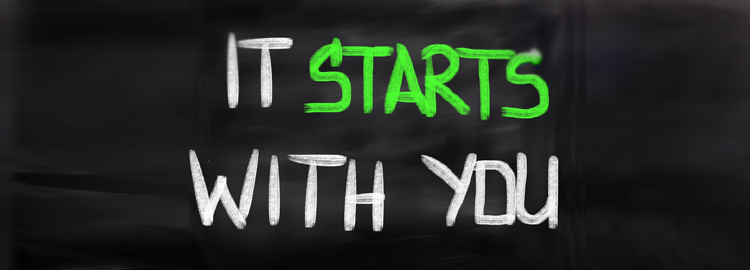 IMAGE OF CHALKBOARD THAT SAYS: IT STARTS WITH YOU