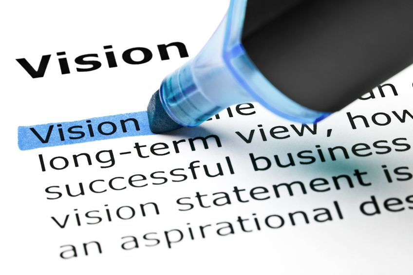 Create a personal vision statement for your career