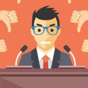 Leaders handle criticism